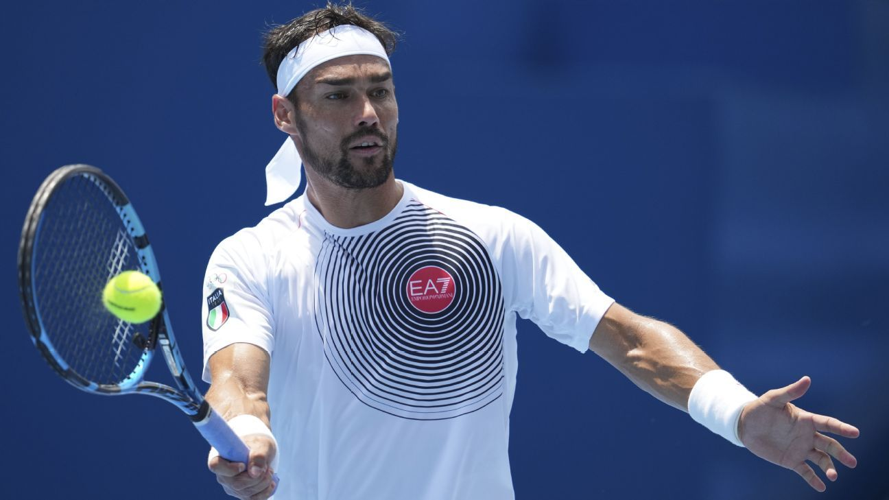 Fognini sorry for anti-gay slur used in tennis loss thumbnail