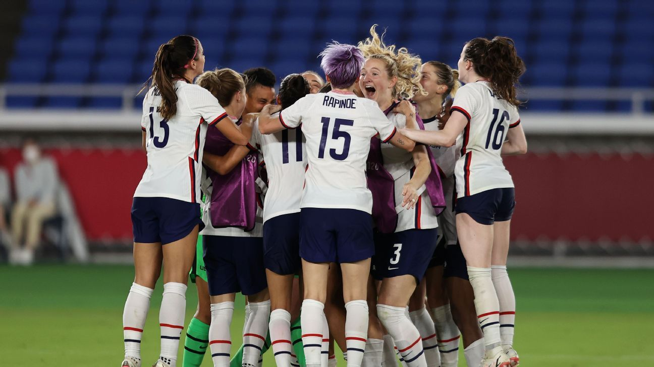 How USWNT beat dangerous Dutch: Naeher No. 1, Williams takes her chance