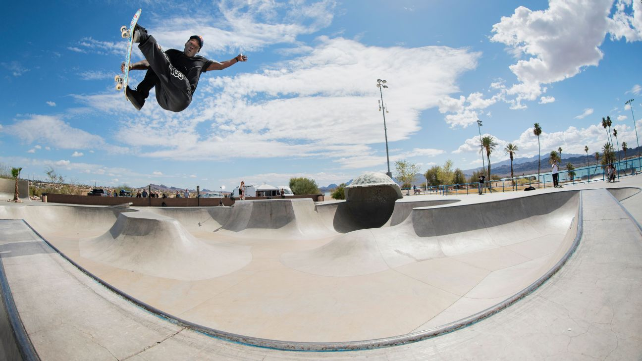 Skateboarder Zion Wright's journey from 114th in the world to the Olympics