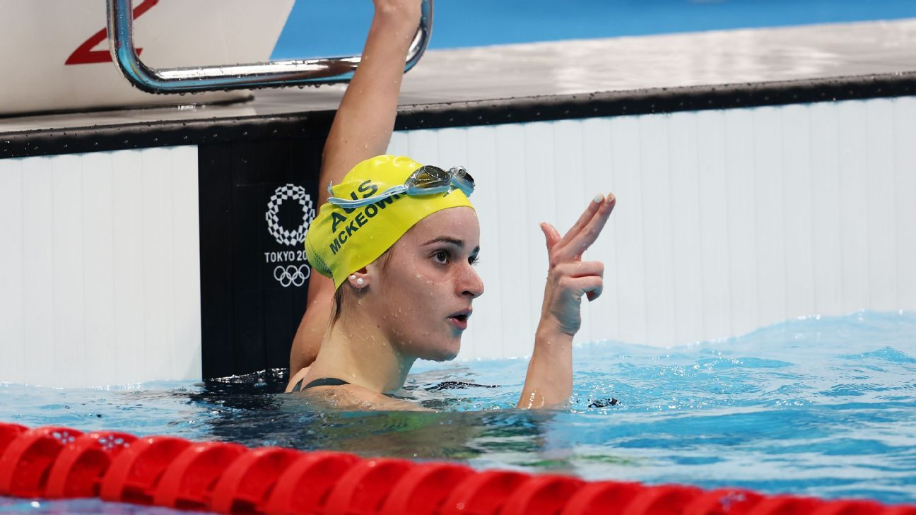 LIVE Tokyo Day 8 McKeown wins 200m backstroke gold, Seebohm bronze