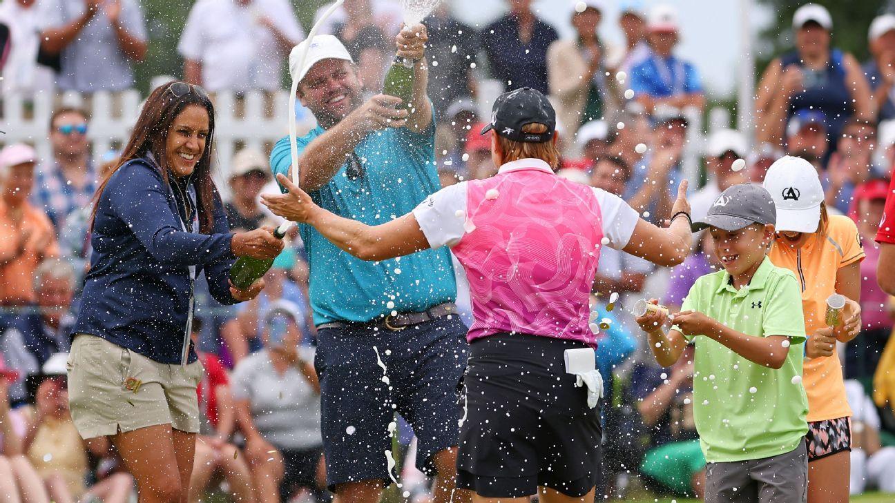 Sorenstam wins U.S. Senior Women's Open title