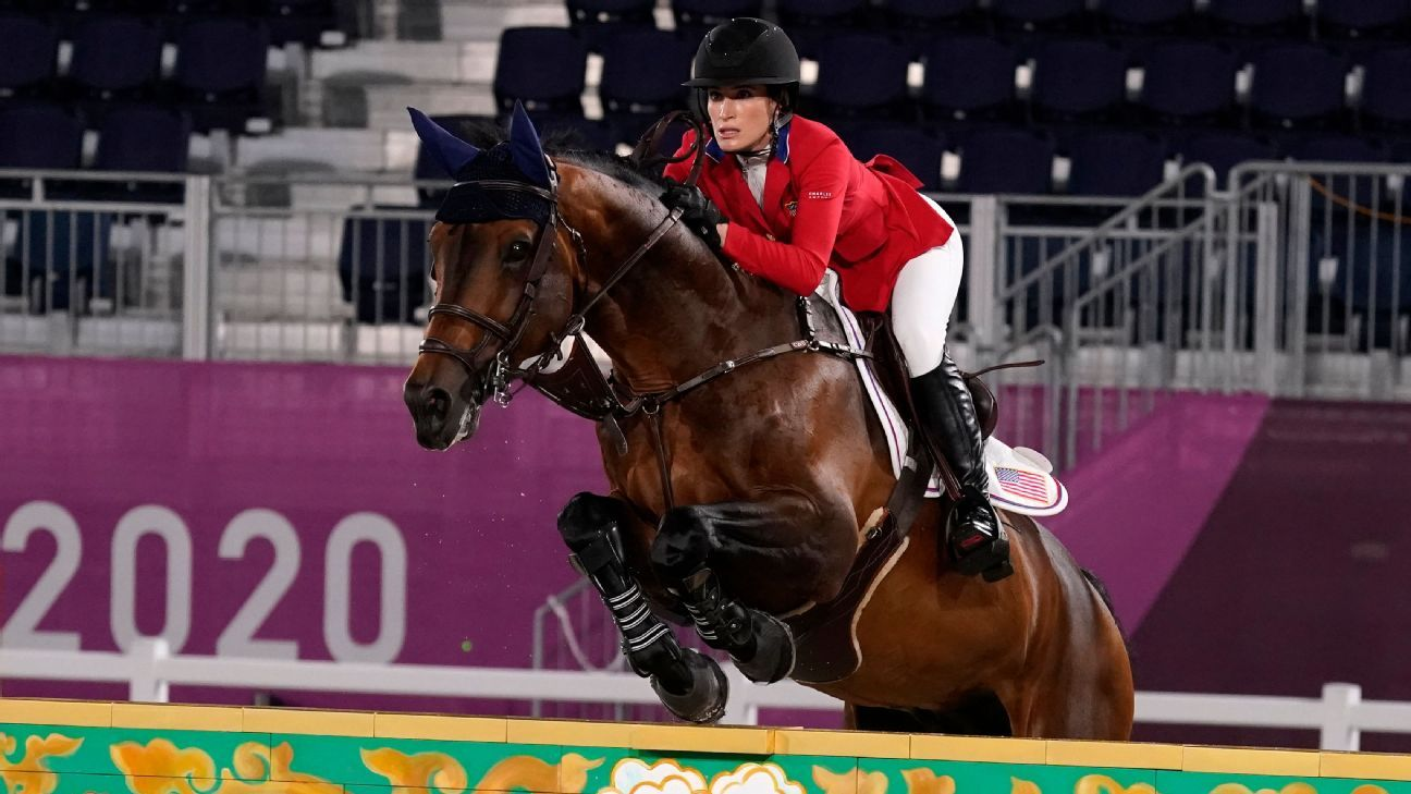 Jessica Springsteen, daughter of rock legend Bruce Springsteen, fails to qualify for equestrian individual jumping final at Tokyo Olympics