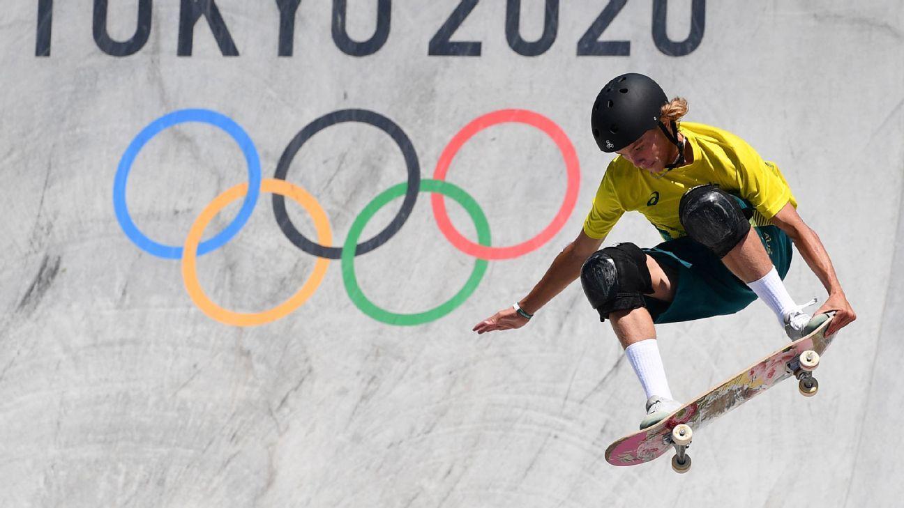 Palmer wins Olympic skateboarding gold