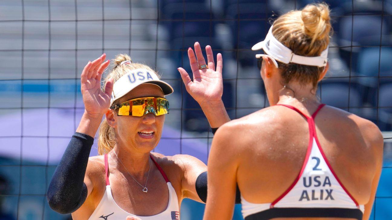 Ross, Klineman win beach volleyball gold for U.S. thumbnail