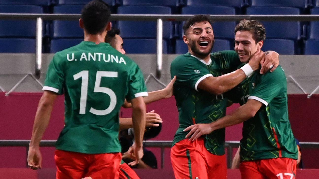 Mexico U23 vs. Japan U23 - Football Match Report - August 6, 2021 - ESPN