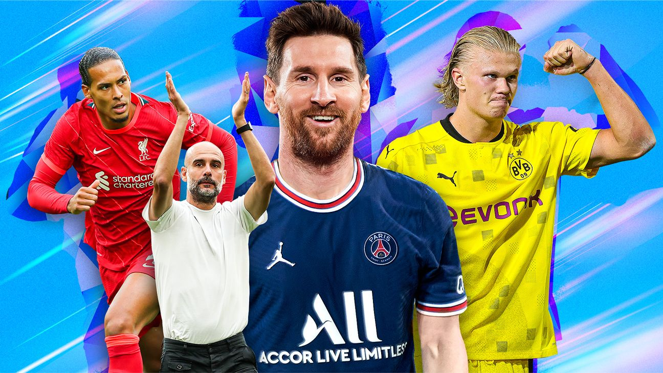 Messi in Paris, Van Dijk fit, and more: 24 things we're excited to see in the 2021-22 European season thumbnail