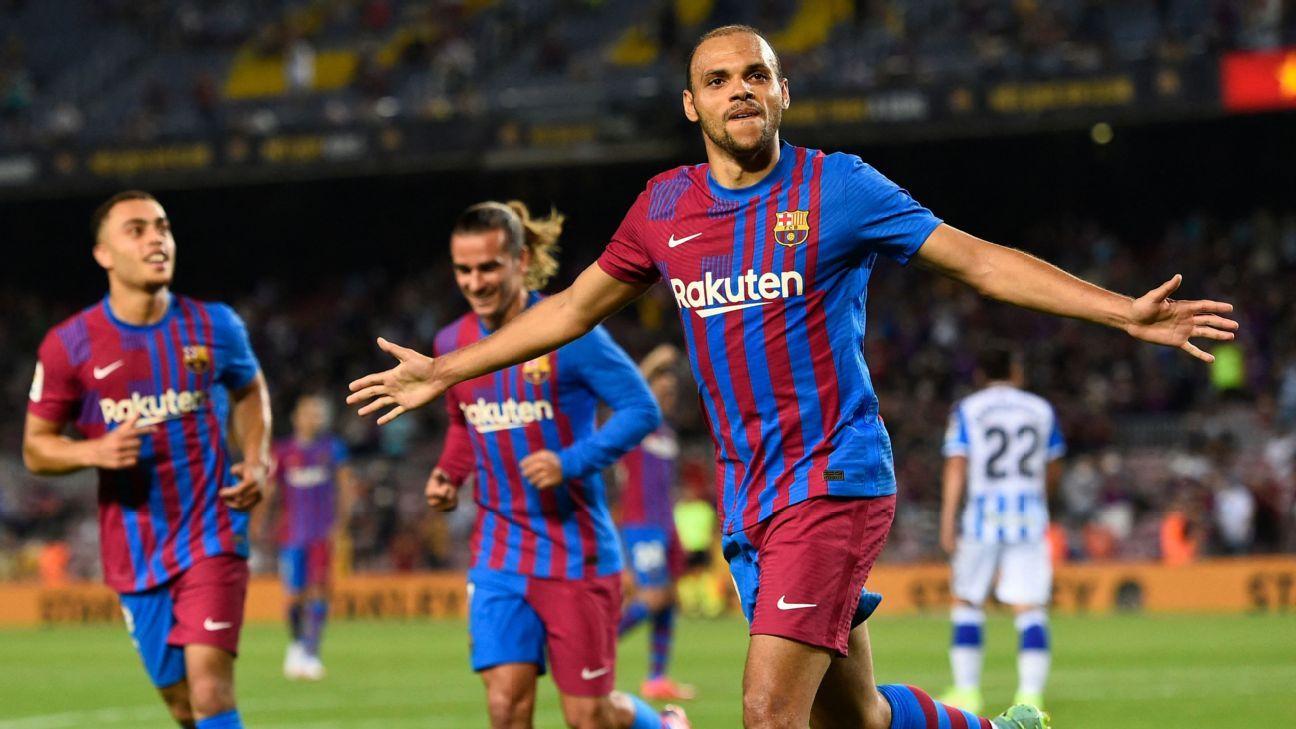 Barcelona vs. Real Sociedad - Football Match Report - August 15, 2021 - ESPN.co.uk