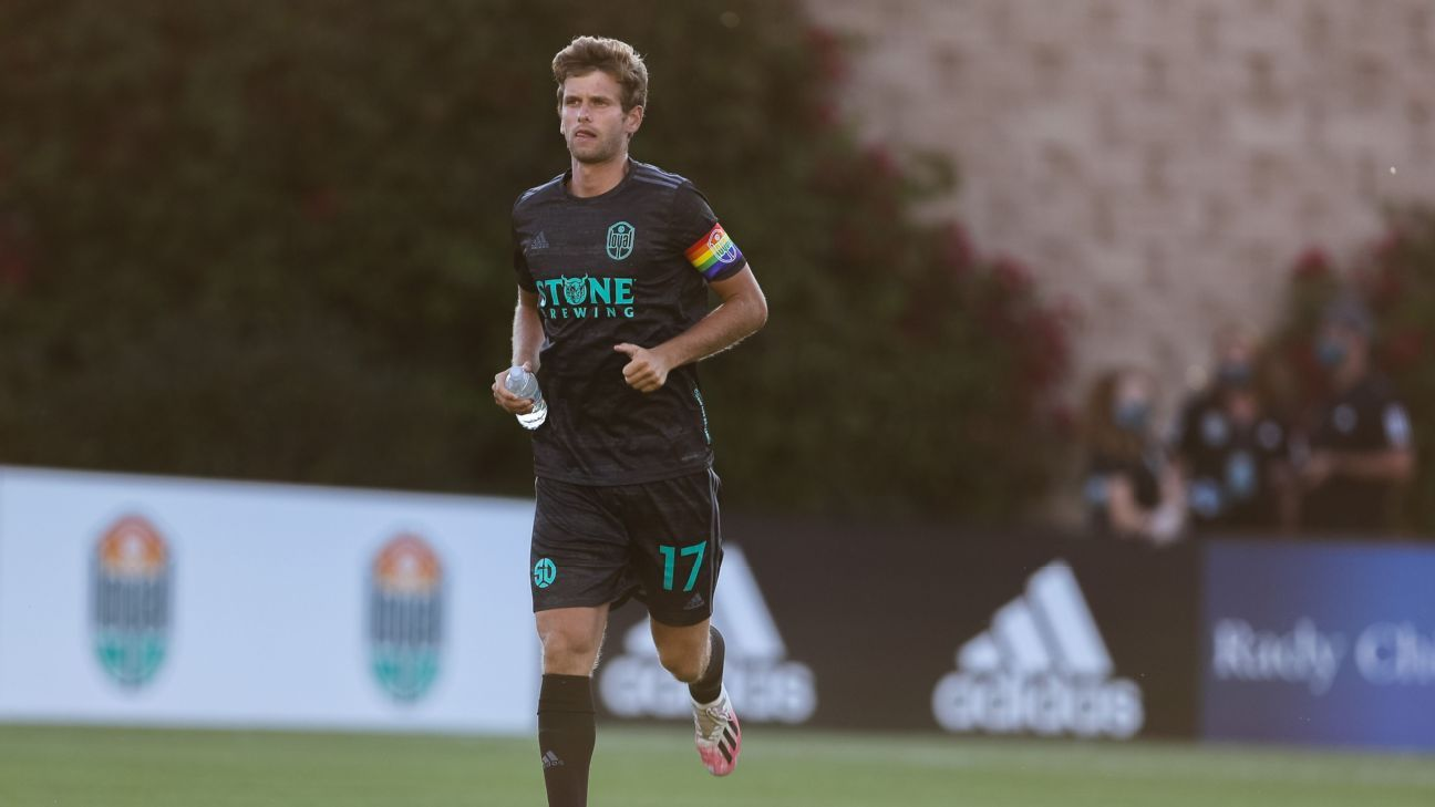 Collin Martin is U.S. soccer's only openly gay male player, and he's working to make the game more inclusive for future LGBTQ+ players