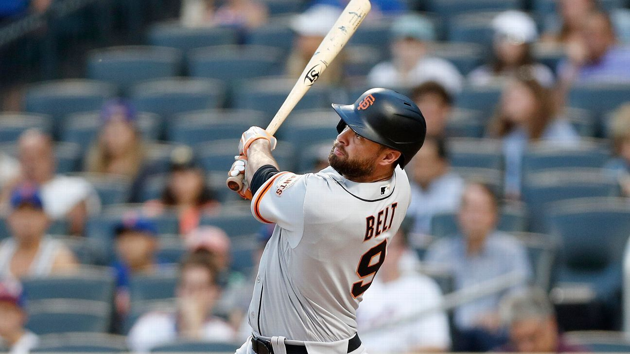 San Francisco Giants' Brandon Belt dedicates two-homer game, season to late grandmother