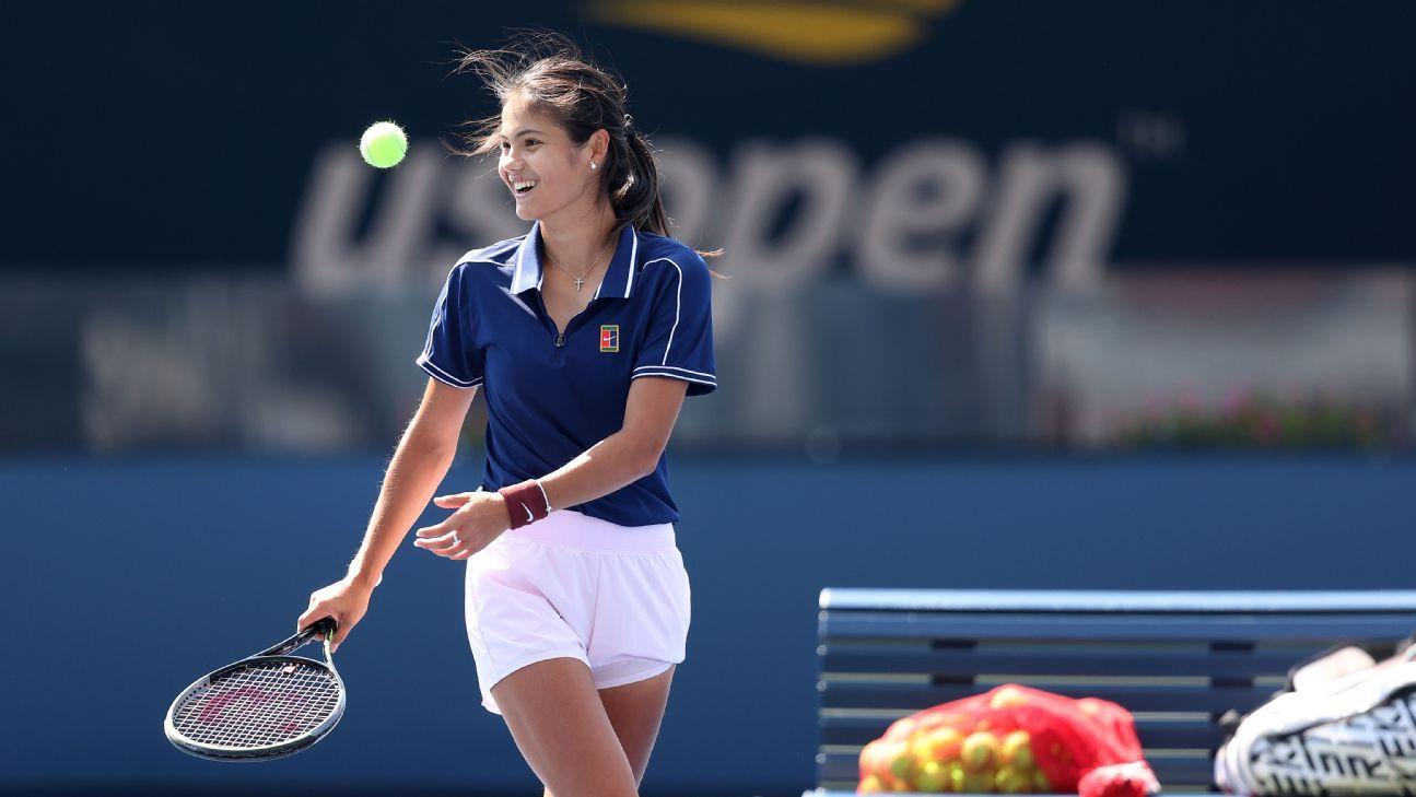 The nine teen US Open champs Leylah Fernandez and Emma Raducanu hope to join