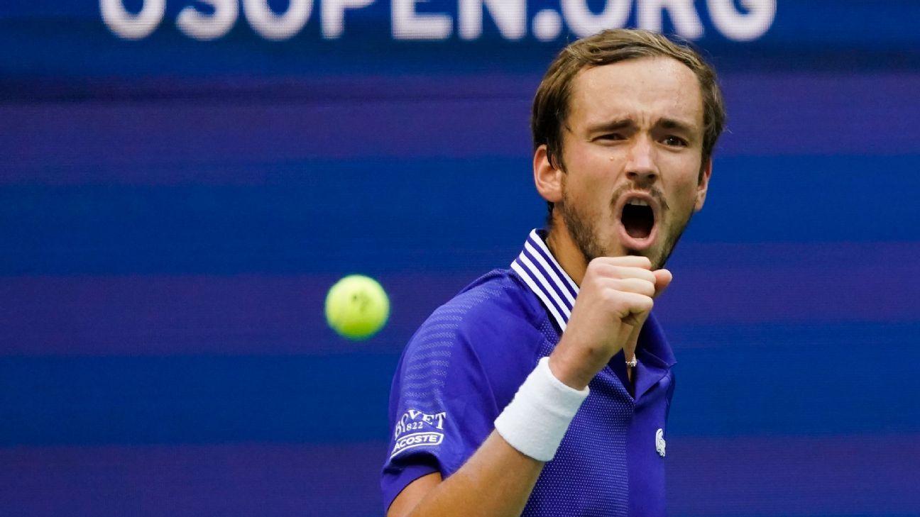 Daniil Medvedev beats Felix Auger-Aliassime in US Open semis to reach third Grand Slam final