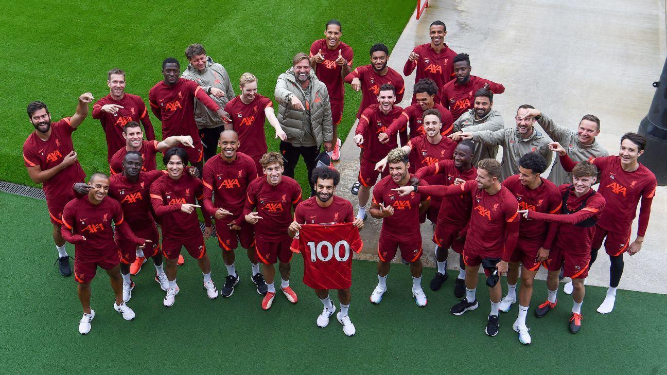 Who'll follow Salah into Premier League's 100 Club next? Mane, Sterling, Ronaldo?