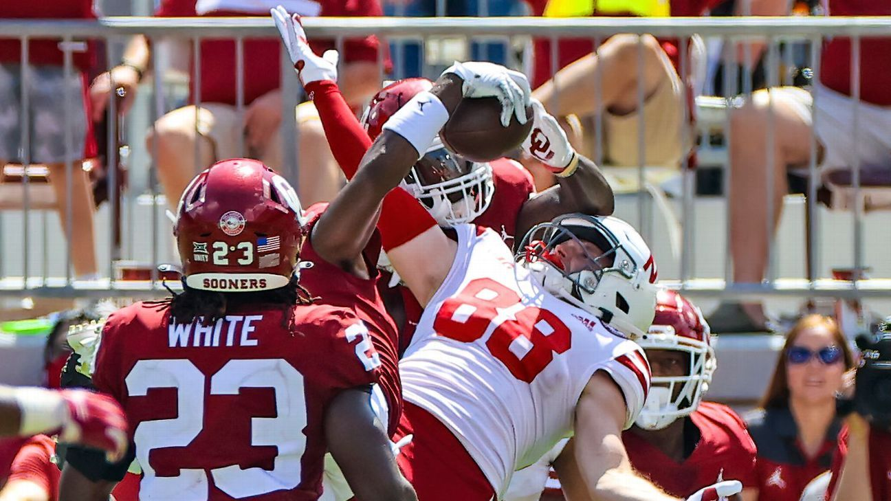 Oklahoma's Lincoln Riley, angling for field position vs. Nebraska, 'might have been the first coach in history' to challenge his own team's INT