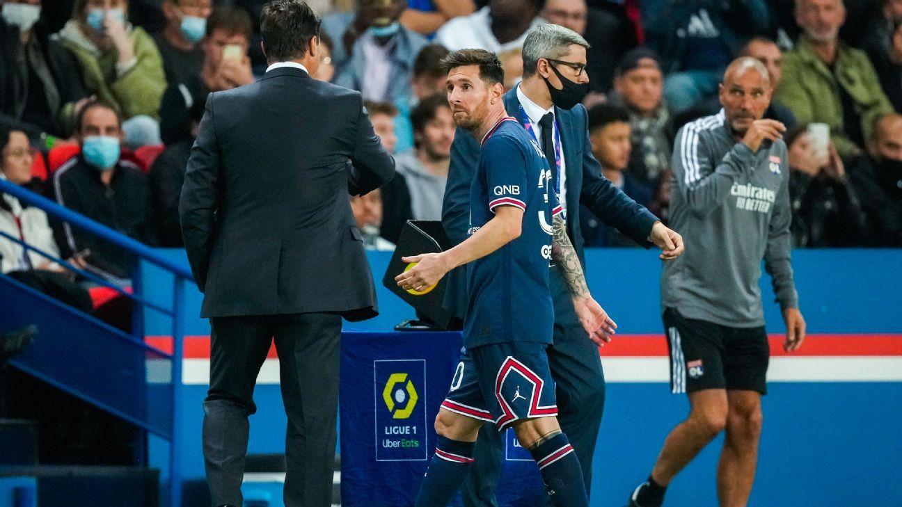 Cambio de Messi en el PSG irrita a la nobleza de Catar