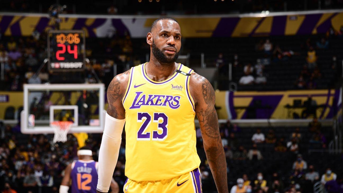 Debating LeBron's spot and the biggest surprises of NBArank 2021