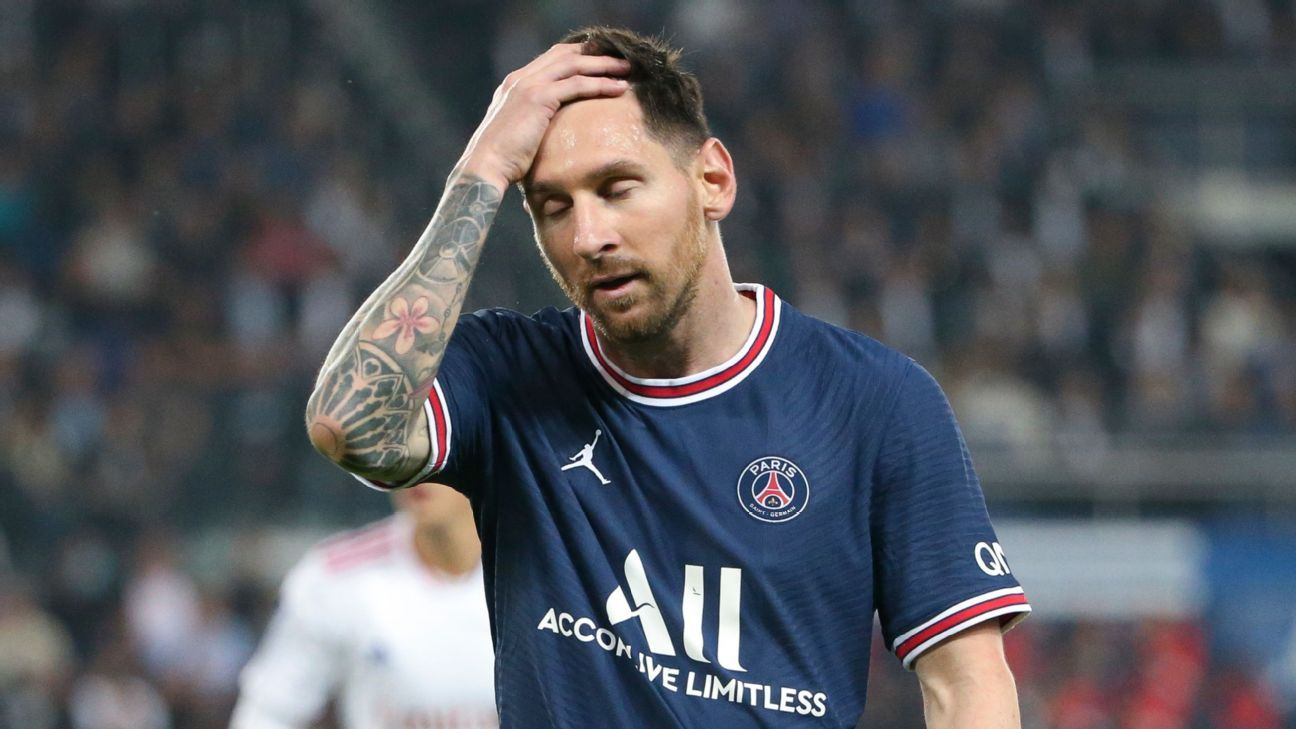 Messi se pierde su segundo partido consecutivo por molestias en rodilla