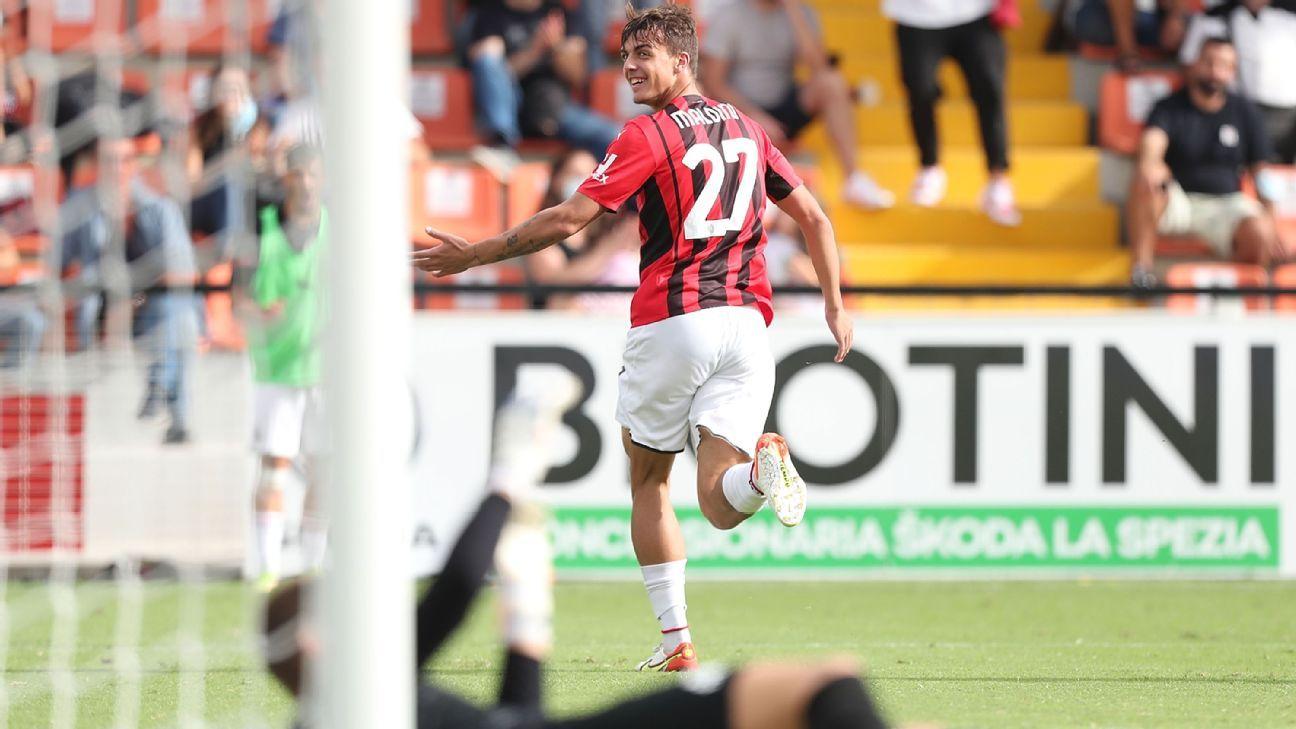 Tras 4.927 días, un Maldini vuelve a marcar en la Serie A