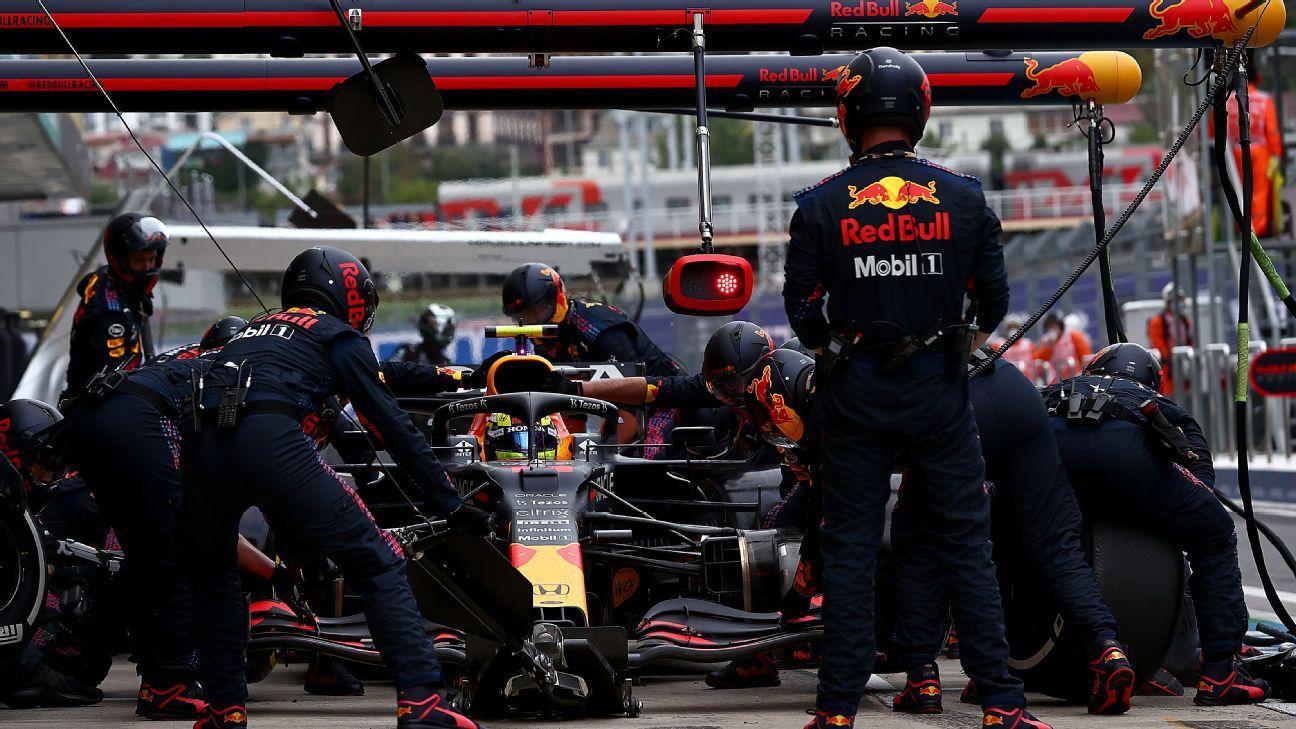 Checo Pérez: 'Es frustrante... tuvimos el podio', luego de perderlo en la lluvia del GP de Rusia