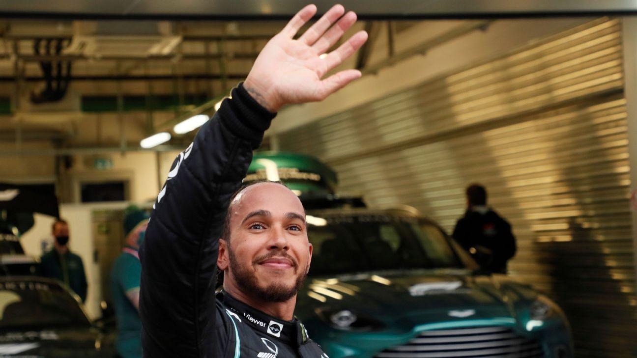 Hamilton consigue su victoria 100 en F1 en el GP de Rusia
