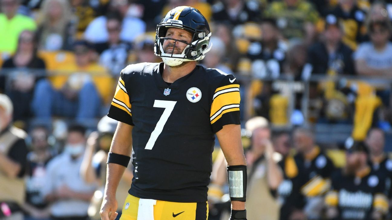 Pittsburgh Steelers QB Ben Roethlisberger notes hip pain but 'I need to be better'
