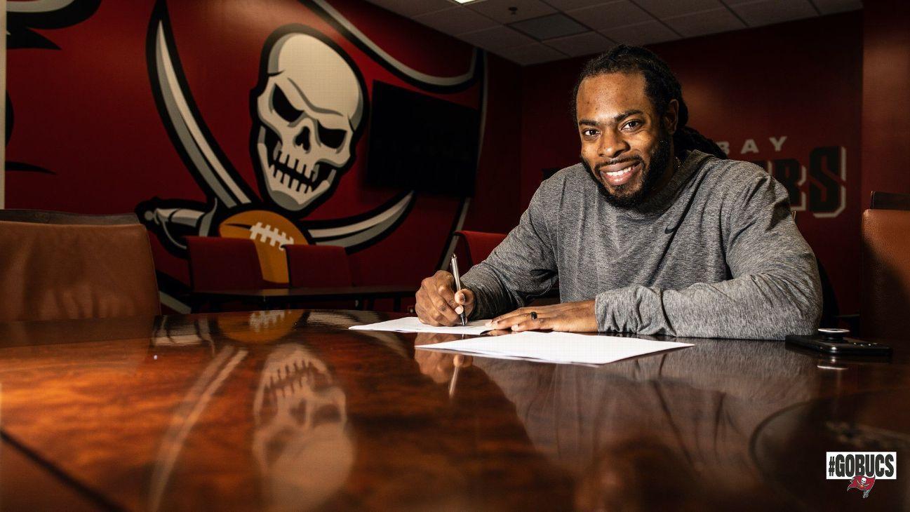 Richard Sherman firma con Tampa Bay Buccaneers por un año: 'La mejor oferta que tuve'
