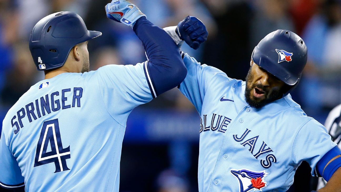 Toronto Blue Jays' Marcus Semien sets major-league record for home runs by a 2B launching No. 44 – ESPN