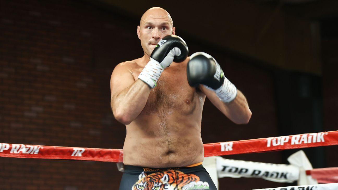 Tyson Fury dice que estará 'triste y solo' después de retirarse del boxeo