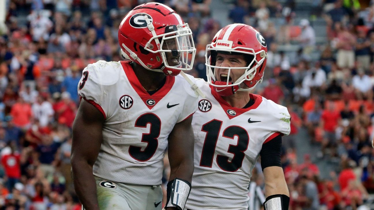 Georgia Bulldogs new No. 1 in AP Top 25; Alabama Crimson Tide fall to 5th after loss