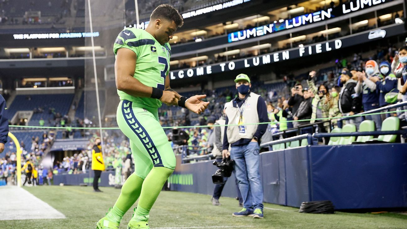 Seattle Seahawks placing QB Russell Wilson on injured reserve; RB Chris Carson out vs. Steelers