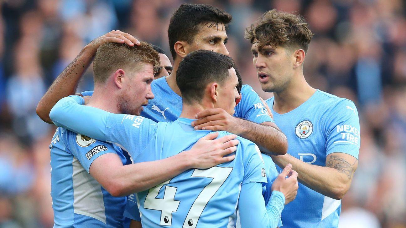 Manchester City vs. Burnley - Reporte del Partido - 16 octubre, 2021 - ESPN