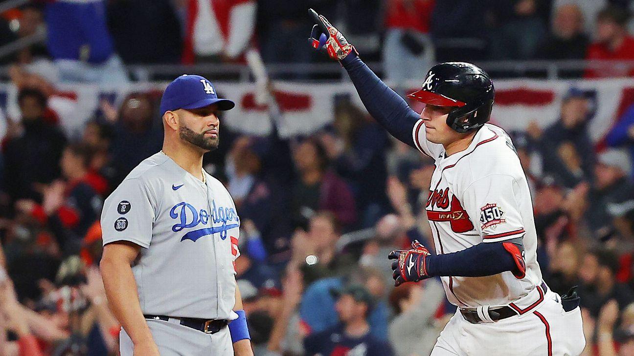 Atlanta Braves new 'big boss' Austin Riley walks off Los Angeles Dodgers in Game 1 of NLCS