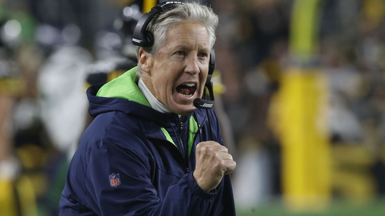 'I've got to lead the charge': Pete Carroll faces most daunting challenge of Seahawks tenure