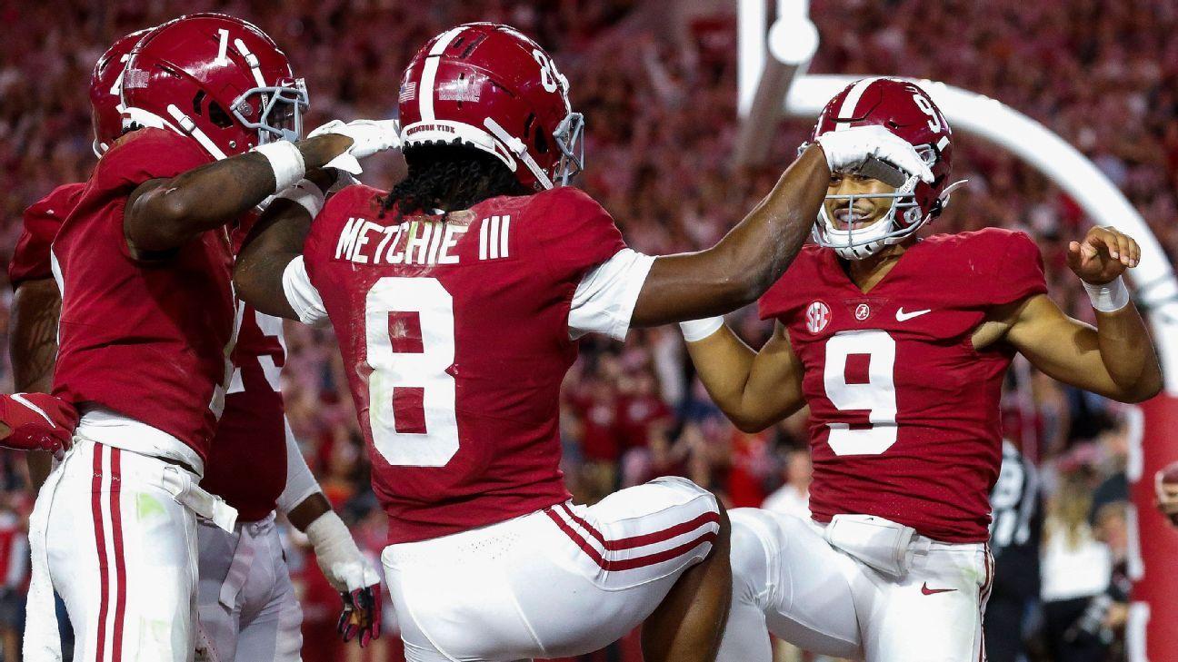 College Football Playoff picks after Week 8