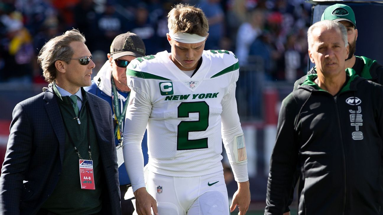 Source: Jets' Wilson (PCL sprain) out 2-4 weeks