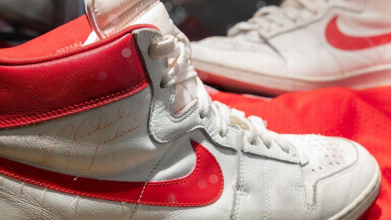 Rare Air: Jordan sneakers sell for record $1.47M