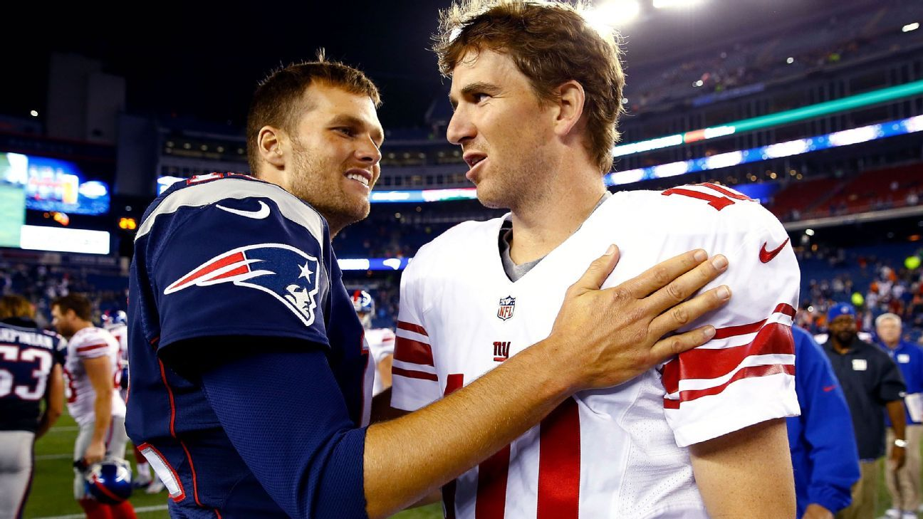 'I would, let's be real:' Brady says he'd trade two Super Bowl rings for a perfect season, Eli Manning say otherwise