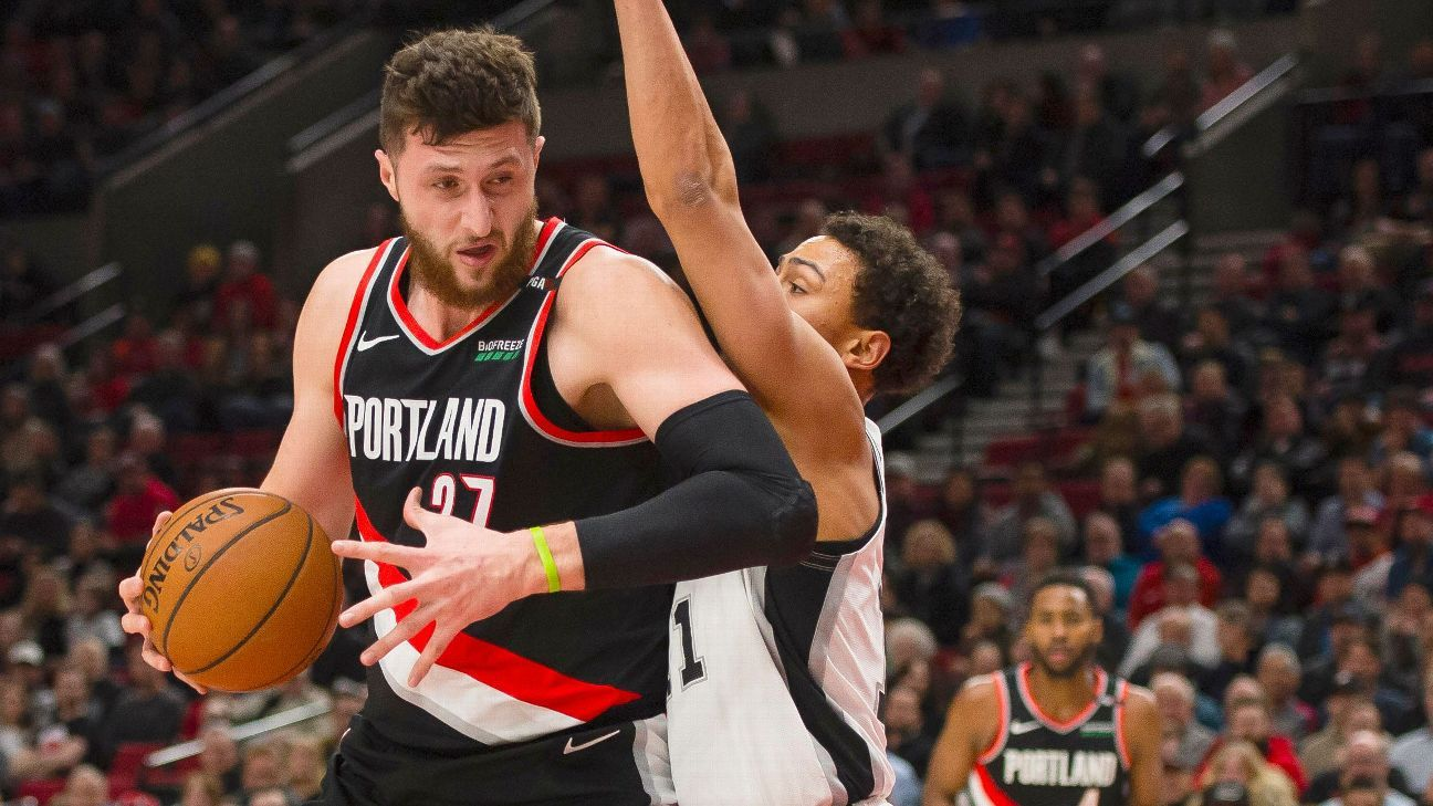 Photo of Nurkic, Collins returns give Blazers' hopes boost