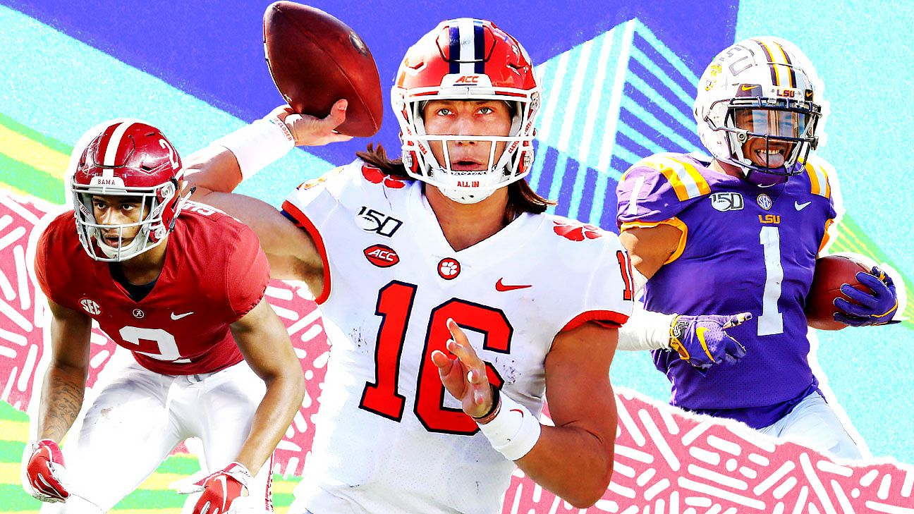 2021 mock draft: NFL Nation reporters predict the first round