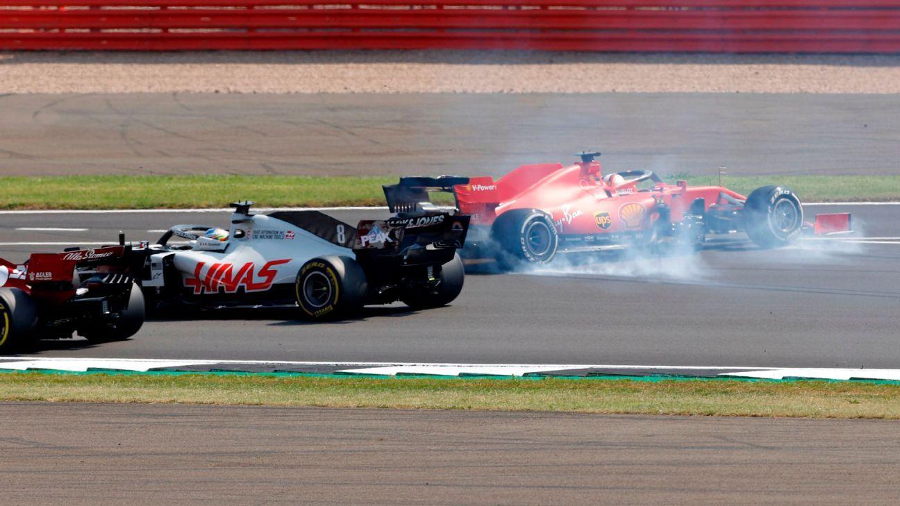 Vettel says Ferrari's strategy 'didn't make any sense'