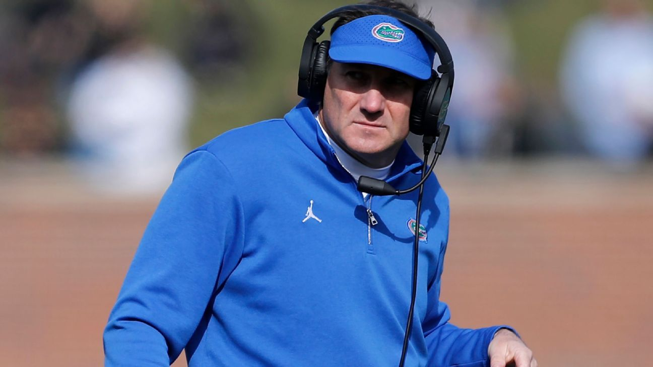Florida Gators coach Dan Mullen tests positive for COVID-19