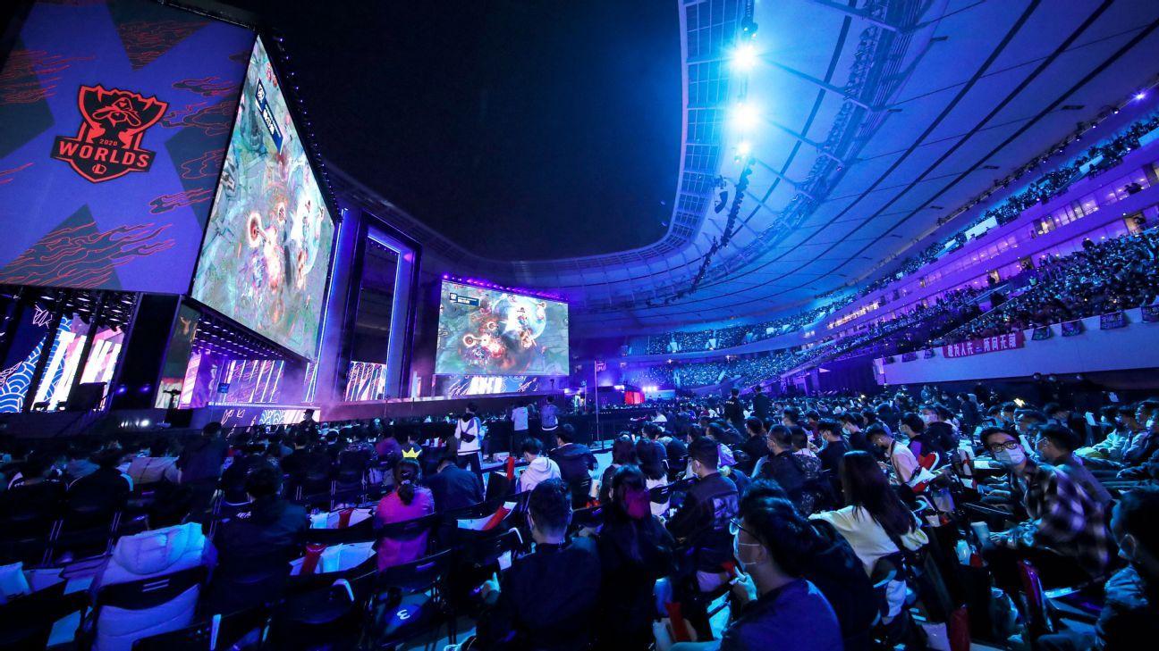 DAMWON Gaming vô địch Giải vô địch thế giới Liên minh huyền thoại năm 2020