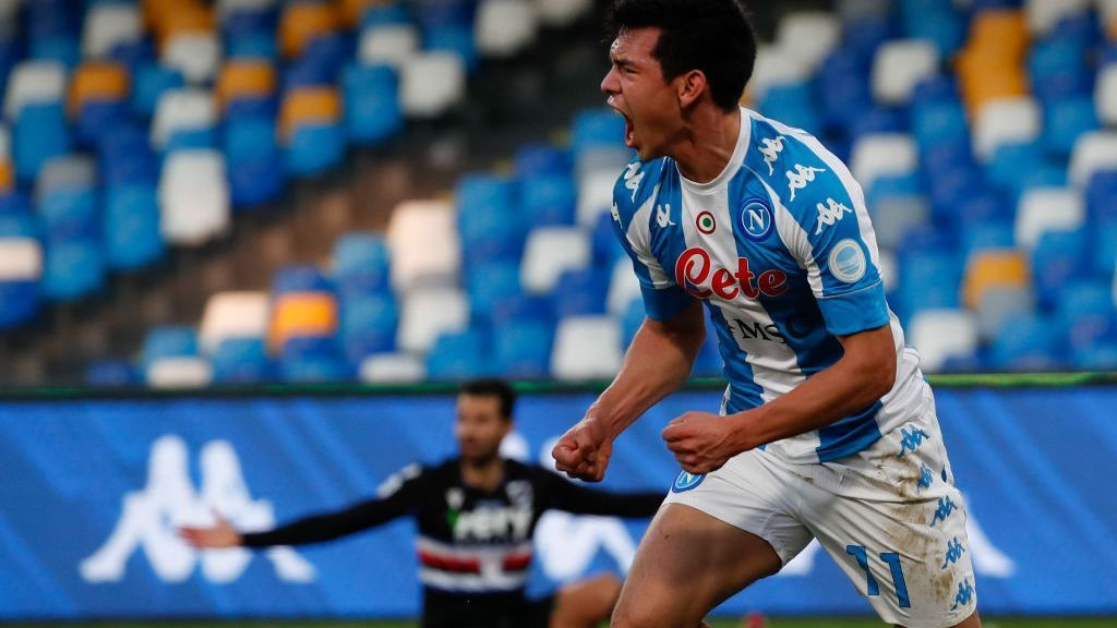 The transformation of Lozano is in Italy