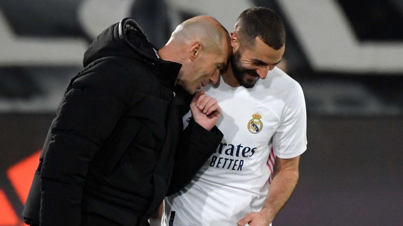 Zidane backs Benzema to win Ballon d'Or award