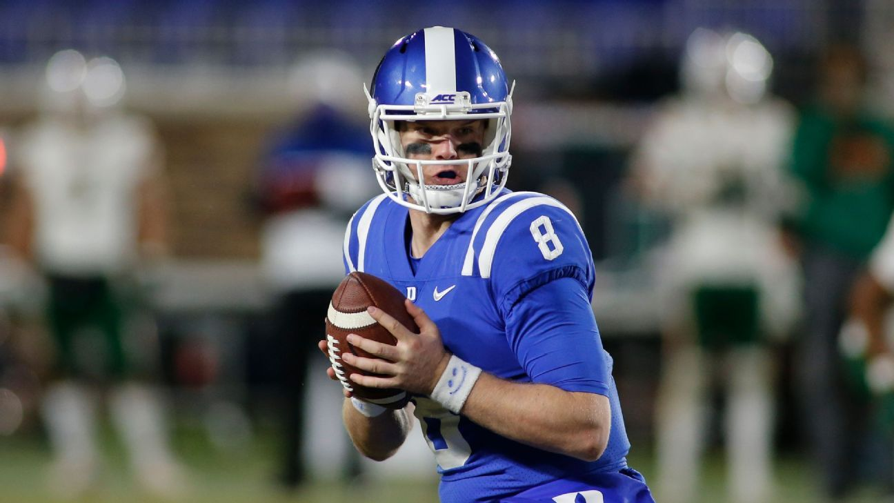 QB Chase Brice transitions from Duke Blue Devils to Apalachian State Mountaineers