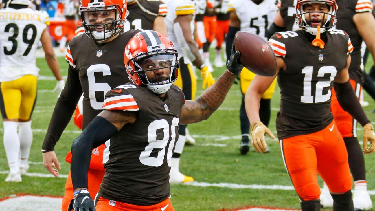Browns end playoff drought, still 'not satisfied'