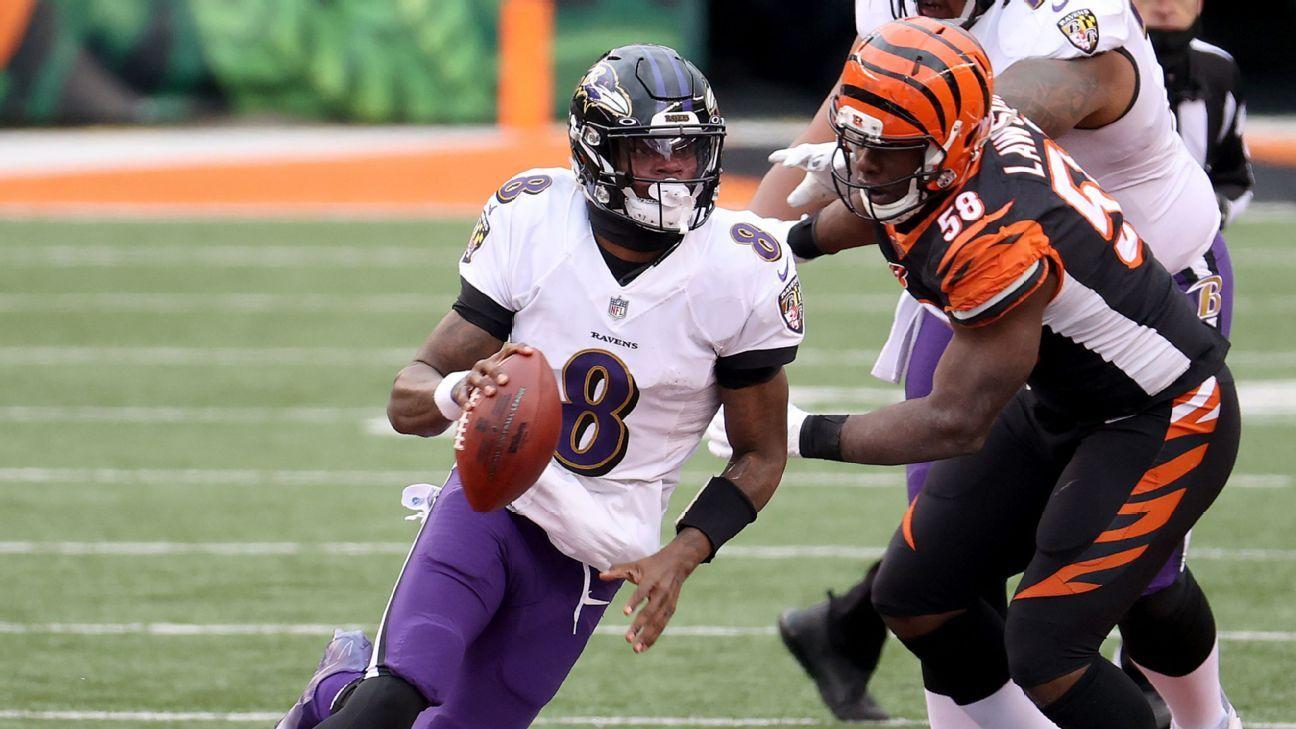 Lamar makes history as Ravens clinch playoff spot