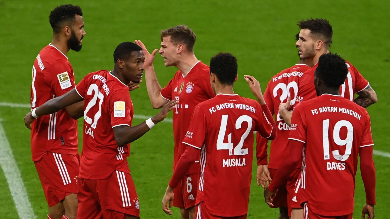 Bayern win historic 9th straight Bundesliga title