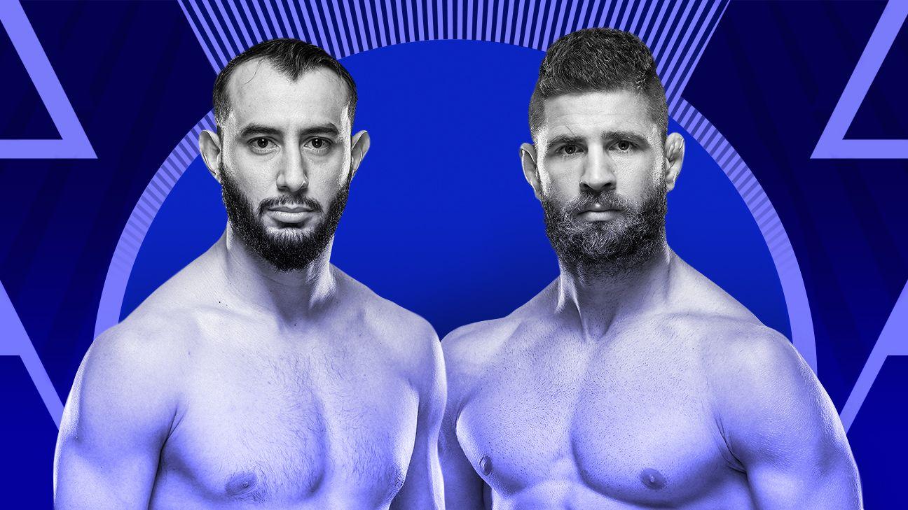 UFC Fight Night viewers guide: Dominick Reyes, Jiri Prochazka meet at a defining crossroads