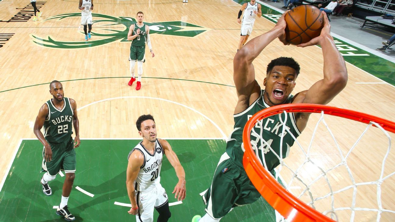 Giannis outduels KD as Bucks win showdown