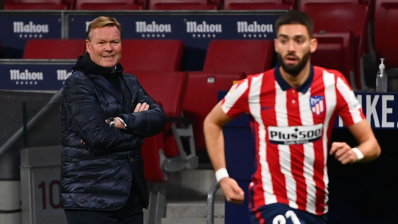 Win La Liga or be sacked? The high stakes facing Koeman, Simeone